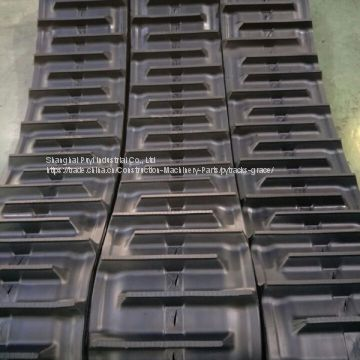 Rubber Track (400*90*47) for Kubota Harvester DC60 Two Patterns