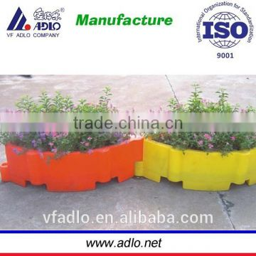 rotomolding flower pot with OEM ,red,yellow,green and customized for your choice