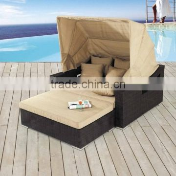 Luxury Outdoor wicker rattan Lounge