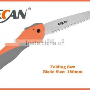 high carbon steel plastic handle folding saw