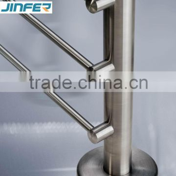 SS/kit garde corps inox/Stainless steel foot rail/stainless steel staircase/cable railing