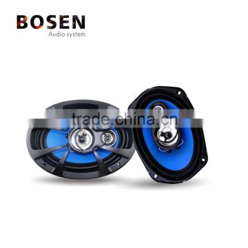 6X9 2-way Coaxial Car Speaker with rubber surround diaphragm
