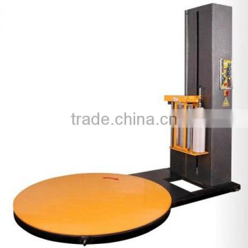 New style Auto pre-stretch pallet wrapping machine