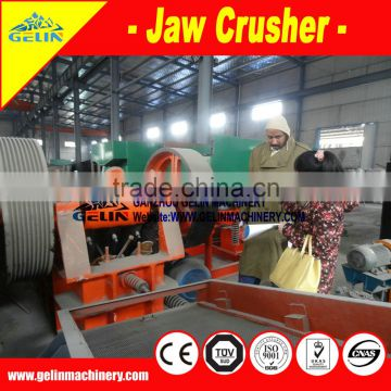 Benefication chrome crusher