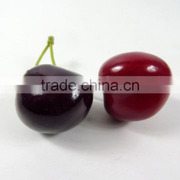 artificial PE cherry fruit for decoration