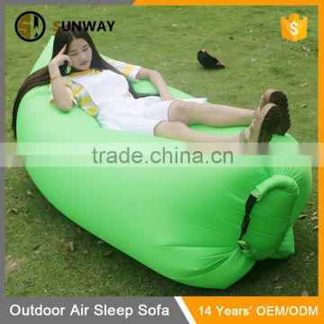 Colorful Outdoor Travel Waterproof Inflatable Sleeping Air Sofa