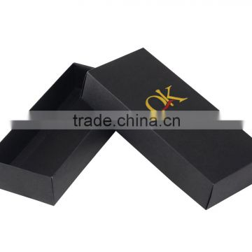 high quality customized logo design packaging paper box for underwear or sock