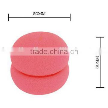 Hair Foam Rollers Sponge Ball Curlers Strawberry Hair Care Foam