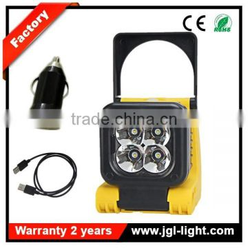 led magnetic work light 12w cree rechargeable led work light with handle