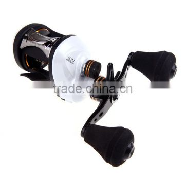 10+1BB Ball Bearings Right Hand Baitcasting Reel 6.3:1 High Speed