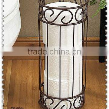 Hot sale metal antique toilet paper holder