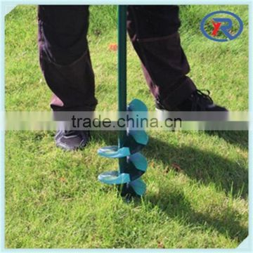 Steel Frame Garden Use Manual Earth Auger