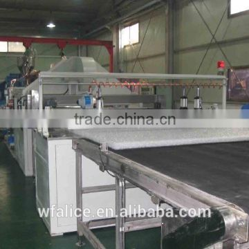 Polymer elastic mattress inner core machinery