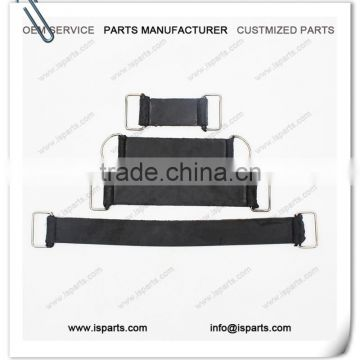 200mm Length Battery Strap with metal clip clamps as pictured