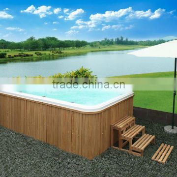 swimming spa tub WS-S04 with three seats