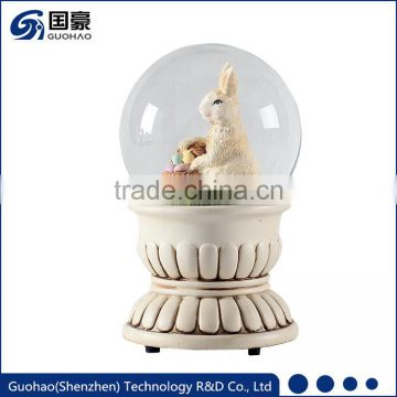 Puntual time and high quality Manufacture Easter water globe