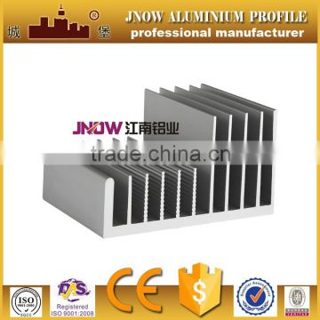 Extruded aluminum heat sink Chinese manufacturer