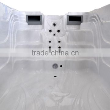 Cheap portable freestanding swim spas for hotel used spa
