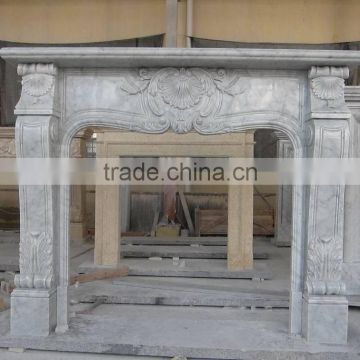 Marble Fireplace Mantel Surrounding