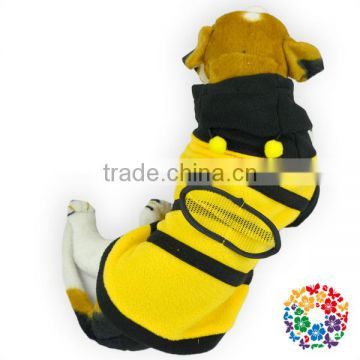 Black Yellow 2015 spring & autumn dog clothes beautiful sportswear wholesale dog clothes pet clothing