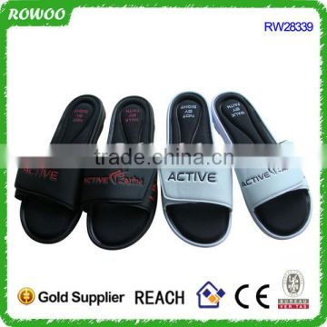 OEM/ODM High Quality Black And White Lady & Man Indoor Slipper