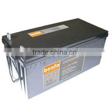 12v220ah lead acid type deep cycle battery discharging for 24v deep cycle battery system