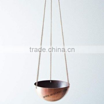 metal new design modern fancy hanging planters