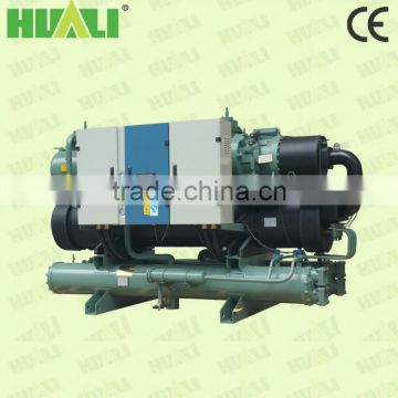 Water Cooled Water Chiller With Screw Type Compressor With R410A Gas