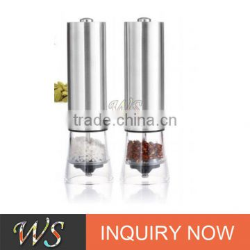 WS-EPM13 New Pepper Mill Electric Stainless Steel Salt and Pepper Grinder