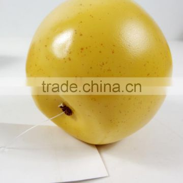 artificial PE green apple for decoration