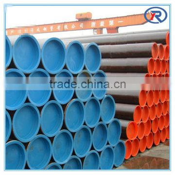black Seamless steel Pipe/Carbon Steel Seamless Pipe made in hebei china