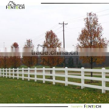Best Selling High Quality Cheap Vinyl/ PVC Fence Used for Horses Manufacturer