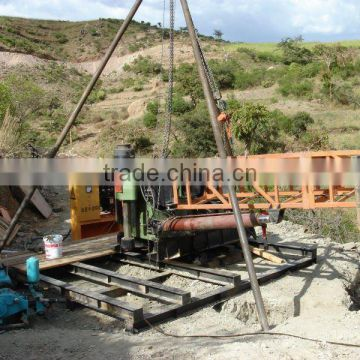 China Gold Supplier, Deutz Diesel for Power, Wireline Coring Drill Rig, HF-44T