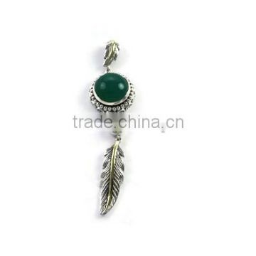 925 Sterling Silver Gemstone Pendant