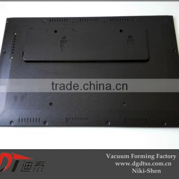 Customized huge 65 in TV cover by vacuum forming