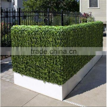 SJ20174475 Hot saleartificial boxwood hedge wall fake fence for outdoor UV anti