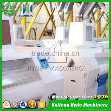 Fully automatic wheat flour mills