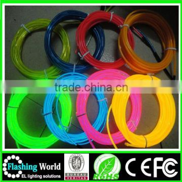 High brightness The cheappest price el luminous wire .el blue wire