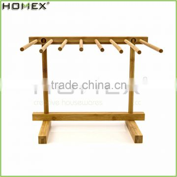Bamboo Pasta Rack for Kitchen/Pasta Drying Rack/Homex_FSC/BSCI Factory