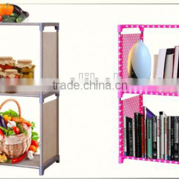 Wholesale customized high quality low price aluminum bookshelf