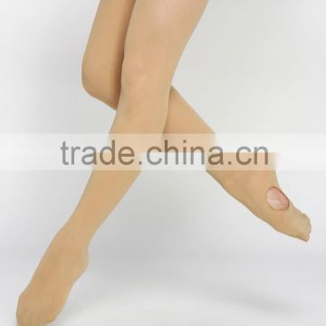 Foot sexy women convertible dancing tights chinese stockings child tights pantyhose