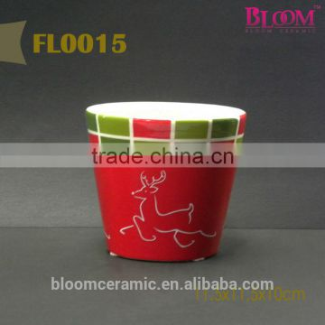 Ceramic wholesale flower pot