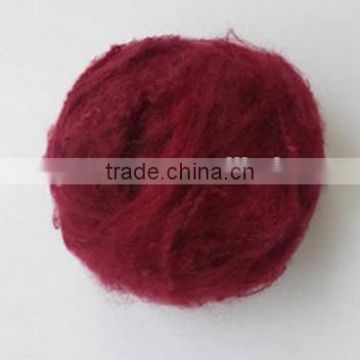100%HCS Dyed Polyester Staple Fiber For Knitting