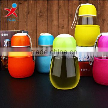 clear large cylinder tableware wholesale