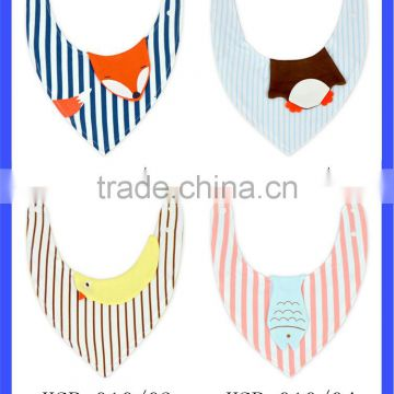 adorable newborn toddler baby adjustable cotton bandana bib