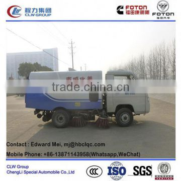 foton 1 m3 road sweeper hydraulic