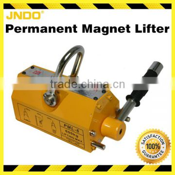 Portable 400kg YC Manual permanent magnet lifter