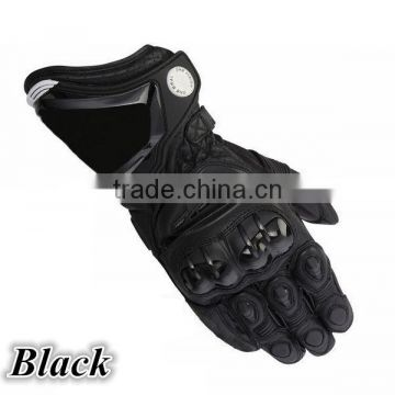 Professional modern design cheaper leather motorbike riding gloves