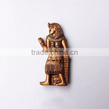 Custom personalized 3D resin Egyptian refrigerator magnet