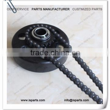 "Household production of Clutch Tooth 20 3/4 ""Bore #219 Chain for mini kart with #219 chain"